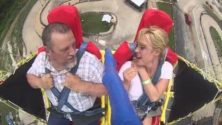 Ejection Seat Ride with Dad