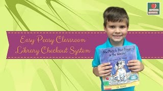 Easy Peasy Classroom Library Checkout System