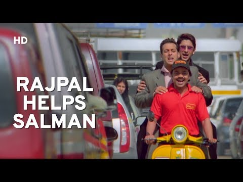 Helpful Rajpal Yadav | Salman Khan | Sohail Khan | Maine Pyaar Kyu Kiya | Comedy Movie