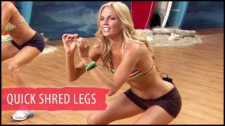 Quick Shred Legs & Glutes Workout: 5 Mins- Surfer Girl by BeFiT