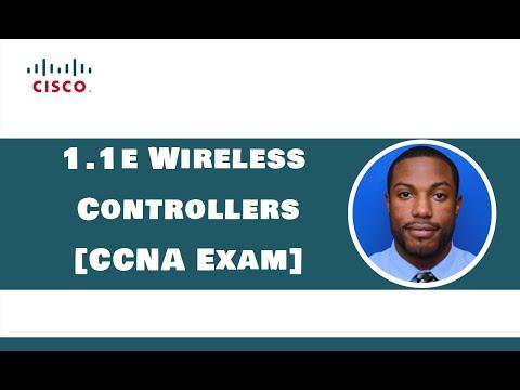 1.1e Wireless Controllers - CCNA Exam (200-301) - YouTube