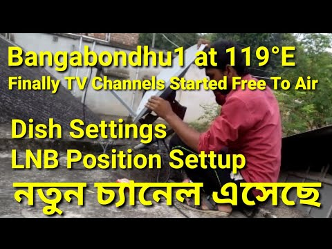 Download Bangabondhu1 At 119 E New Channel Started Free To Air Dish