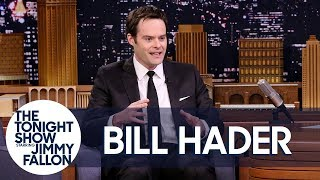 Bill Hader Shares His First Time Getting High