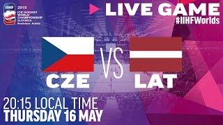Czech Republic vs. Latvia | Full Game | 2019 IIHF Ice Hockey World Championship