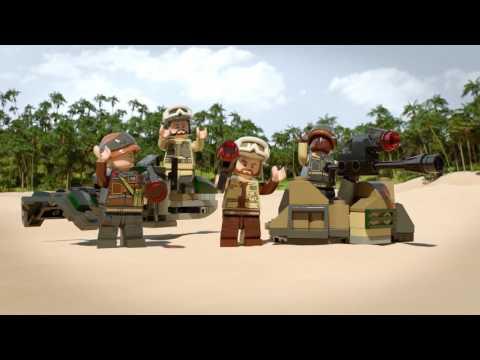 Конструктор Боевой набор Повстанцев - LEGO STAR WARS - фото № 8