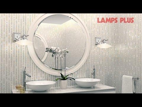Elegant Bathroom Lighting Design Ideas -- Spa Like Style