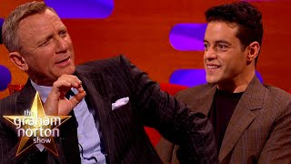 How Daniel Craig Made Rami Malek A Bond Girl   The Graham Norton Show