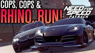 Need for Speed Payback Let's Play | Cops, Cops... AND A RHINO!!! | Episode 13