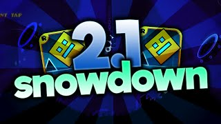 GEOMETRY DASH SNOWDOWN 2.1
