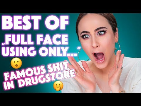 Full Face Makeup Using Only DIE BESTEN DER BESTEN Drogerie Produkte | Hatice Schmidt