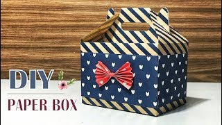 Easy DIY Gift Box / Paper Box #3 Tutorial
