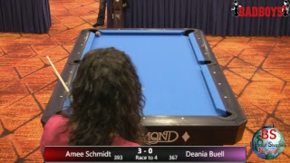 2019 MICHIGAN BCAPL STATE CHAMPIONSHIPS Amee Schmidt VS Deania Buell