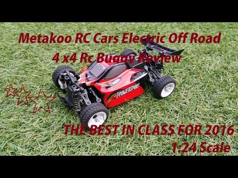 Metakoo RC Cars Electric Off Road 4×4 Rc Buggy High Speed 40km/h Remote Car 1:24 Scale Review