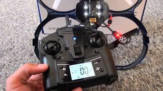 Ninetec Spaceship 9  großer Quadrocopter Drohne HD Cam Looping Funktion fliegende Überwachung