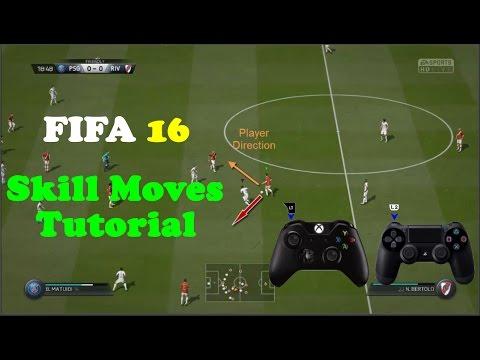FIFA 16 Skill Moves Tutorial - How To Perform  Skill Moves in FIFA 16 - Tips & Tricks
