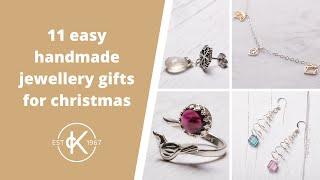 11 Easy Handmade Christmas Jewellery Making Projects   Kernowcraft