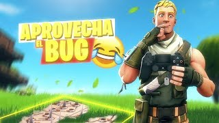 APROVECHA EL BUG! LA TRAMPA INVISIBLE! FORTNITE