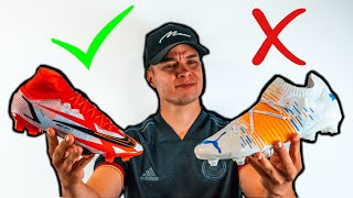 Vermeide diese 5 Fehler beim Kauf deiner Fußballschuhe!