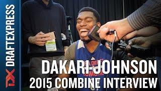 Dakari Johnson 2015 NBA Draft Combine Interview