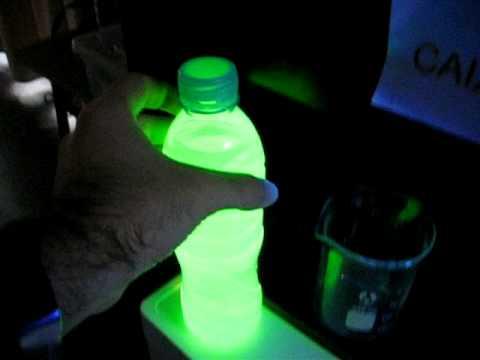 La proteína verde fluorescente