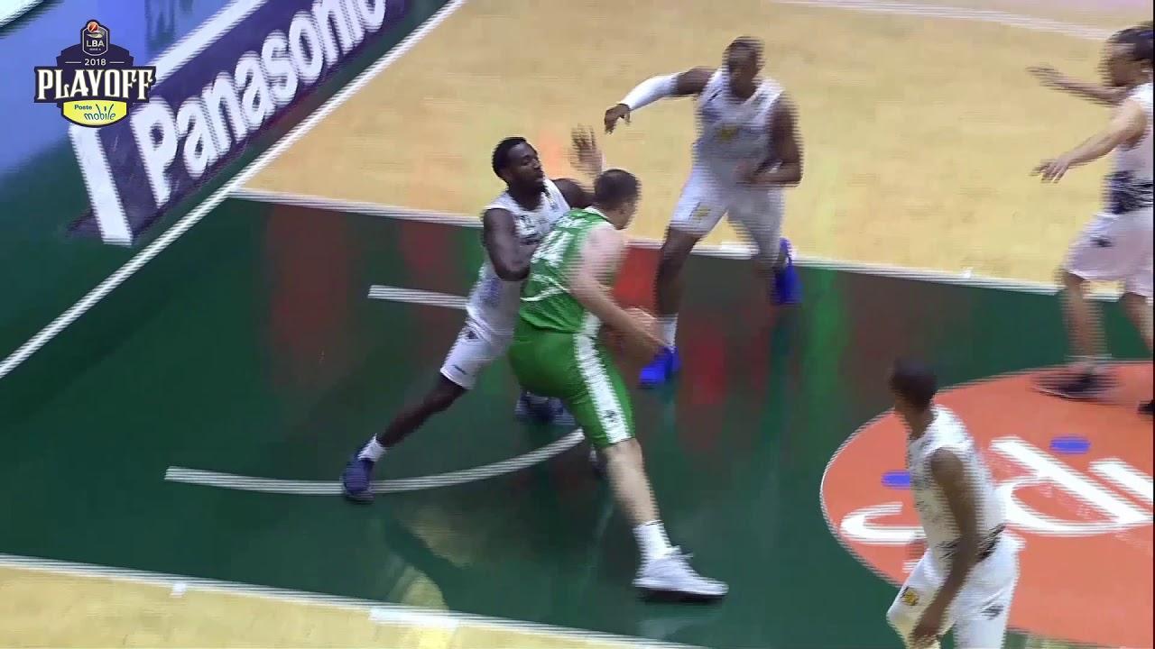 Kyrylo Fesenko MVP Gara2 LBA Playoff PosteMobile