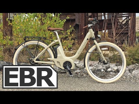 Piaggio Wi-Bike Comfort Plus Video Review – $3.7k Stylish, Feature Complete, Electric Bicycle