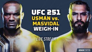 UFC 251: Kamaru Usman vs. Jorge Masvidal Official Weigh-Ins