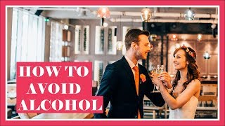 How To Stay Sober On Your Wedding Day (But Still Have Fun!)