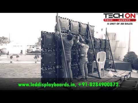 P6 Rental Cabinets Indoor Outdoor Die Cast Cabinets Size 576x576mm