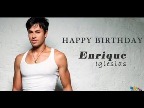 Enrique lglesias Birthday Special !