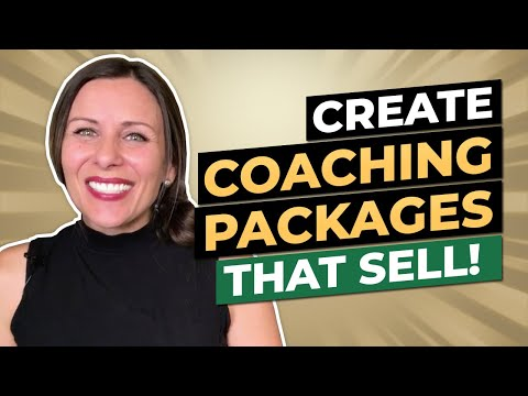 Create Coaching Packages That Sell | Life Coach Training - YouTube