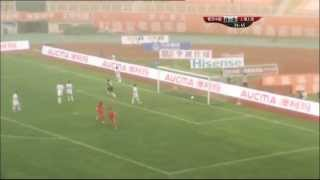 preview picture of video 'Qingdao Jonoon vs Shanghai East Asia: Chinese Super League 2013 (Round 11)'
