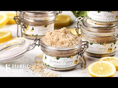 Lemon Poppy Seed Sugar Scrub Kit