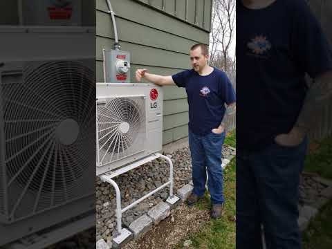 LG Air Source Heat Pump Install | Cortland, NY