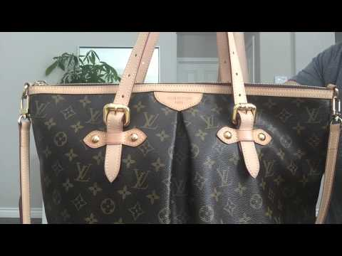 LOUIS VUITTON REVIEW + WHY I SOLD THIS BAG   PALERMO GM   MOD SHOTS    GINALVOE ffed05ac42