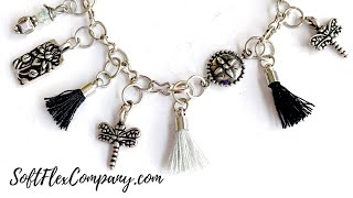 How To Make A Simple DIY Charm Bracelet With Chain: Free Spirit Beading With Kristen Fagan