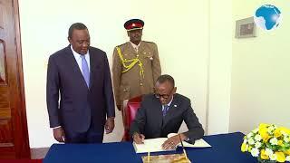 President Paul Kagame of Rwanda in Kenya