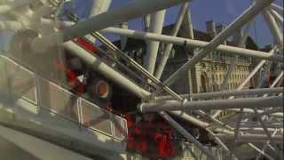 Вид с высоты Лондонского Глаза