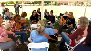 "2014 DFCW - Picnic - Song Circle - ""As The Raven Flies"""
