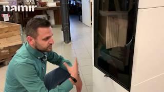 Кафельная печь камин ( Каминофен, изразцовая печь ) Hein FANTASY 1 (белая) від компанії House heat - відео