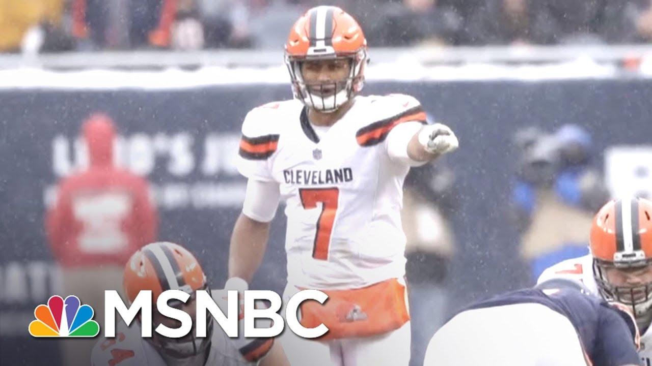 "Cleveland Browns Celebrate A ""Perfect"" Season | MTP Daily | MSNBC thumbnail"