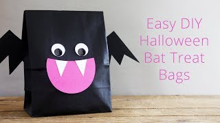 Easy DIY Halloween Bat Treat Bags + Free Templates - LIVE REPLAY
