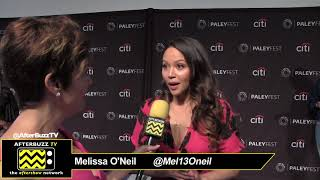 "Melissa O'Neil at PaleyFest for ""The Rookie"""