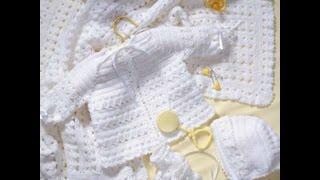 Crochet Along - Baby Layette / Bonnet  - Video 1