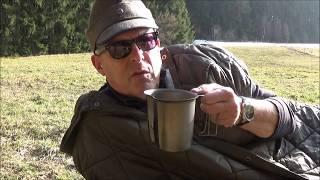 Abenteuerland - modifizierter Schlafsack für Jagd und Bushcraft