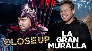 Matt Damon platica cómo filmó la peli más grande China