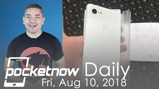 Google Pixel 3 XL extra leaks, Galaxy Note 9 vs. iPhone X & more - Pocketnow Daily