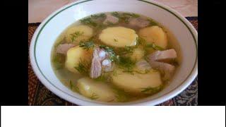 Суп из свиной грудинки