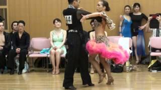 社交ダンス パソドブレ 第1位 第13回ヤングサークル10ダンス選手権 若者サークル競技会