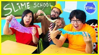 SLIME SCHOOL ! Back to School TEACHER VS. STUDENTS!